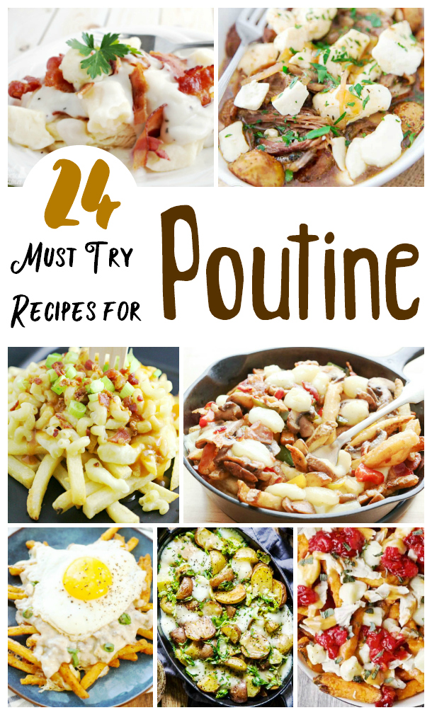 Craving some real comfort food? Check out these unique Poutine recipes, from brunch poutines to poutine mac and cheese, and everything in between