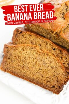 Banana Bread Recipe with Yogurt (with Video)