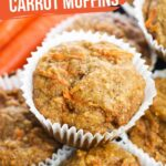 Healthy Carrot Muffins (with Video)