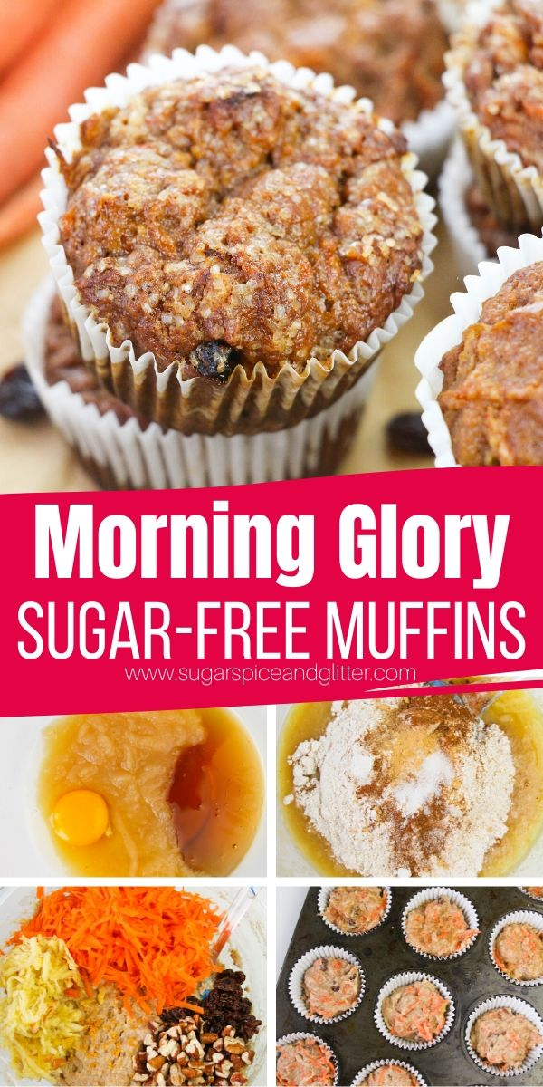 How to make HEALTHY Morning Glory Muffins - a delicious muffin for brunch, on-the-go snacking or a lunch box treat. These muffins are packed with warming spices, delicious and healthy mix-ins and good-for-you ingredients