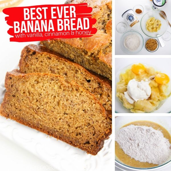 How to make banana bread with yogurt - it just melts in your mouth!