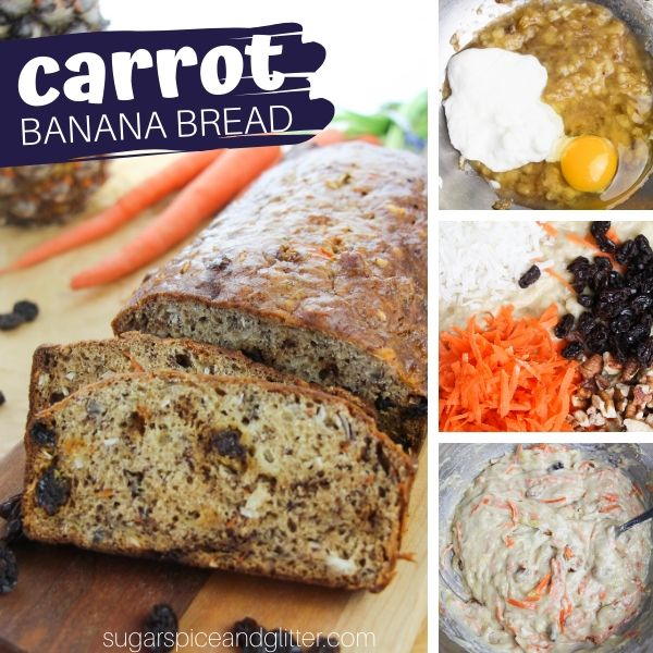 How to make a tender and delicious carrot banana bread to satisfy your carrot cake cravings