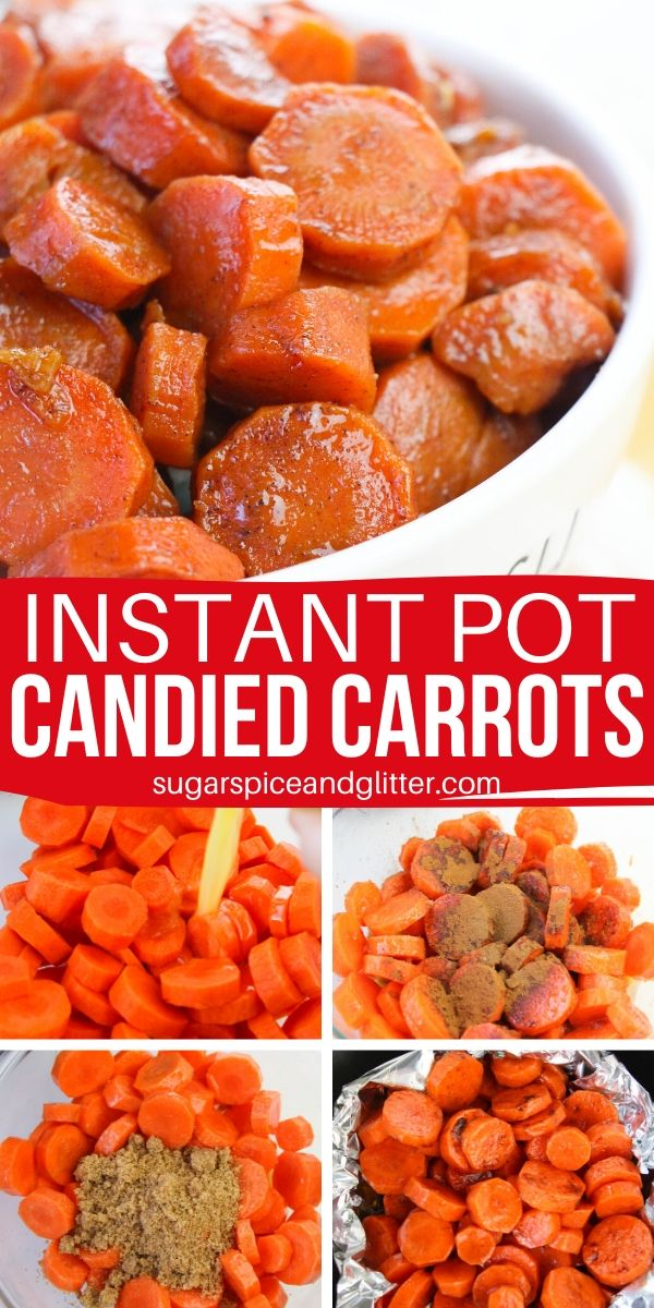 The kids will love this candied carrot recipe, and at less than 1/2 Tablespoon of sugar per serving there's nothing to feel bad about! An easy instant pot vegetable recipe for the holidays