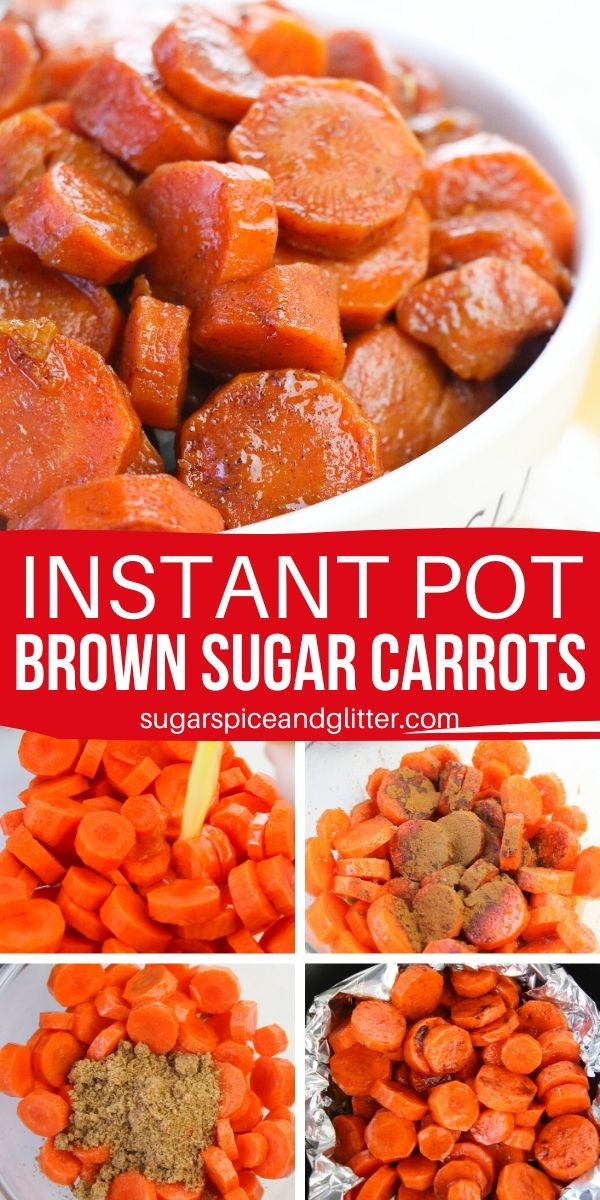 Looking for the perfect carrot recipe for the holidays? This Instant Pot Brown Sugar Carrot recipe is sweet and earthy and keeps your oven free for the main dish!