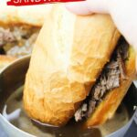 Instant Pot Hot Beef Sandwiches