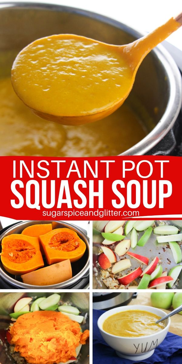 Make a rich, velvety butternut squash soup that the whole family will love - in the Instant Pot! This simple Instant Pot recipe helps you sneak in those vegetables in a delicious way