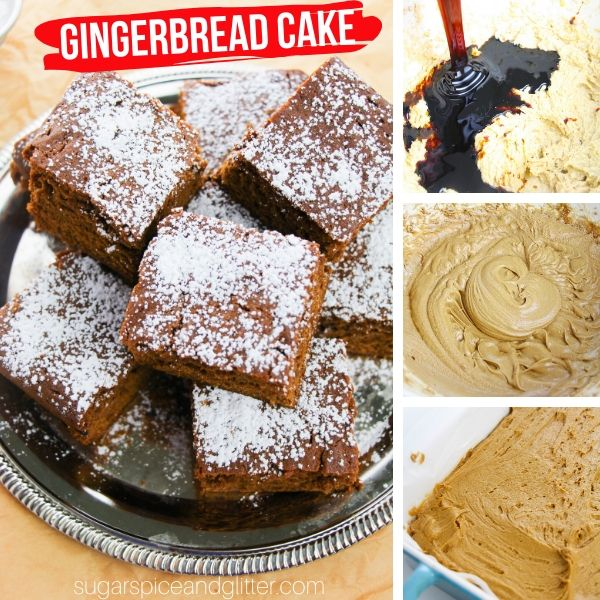 How to make an authentic Gingerbread Cake recipe