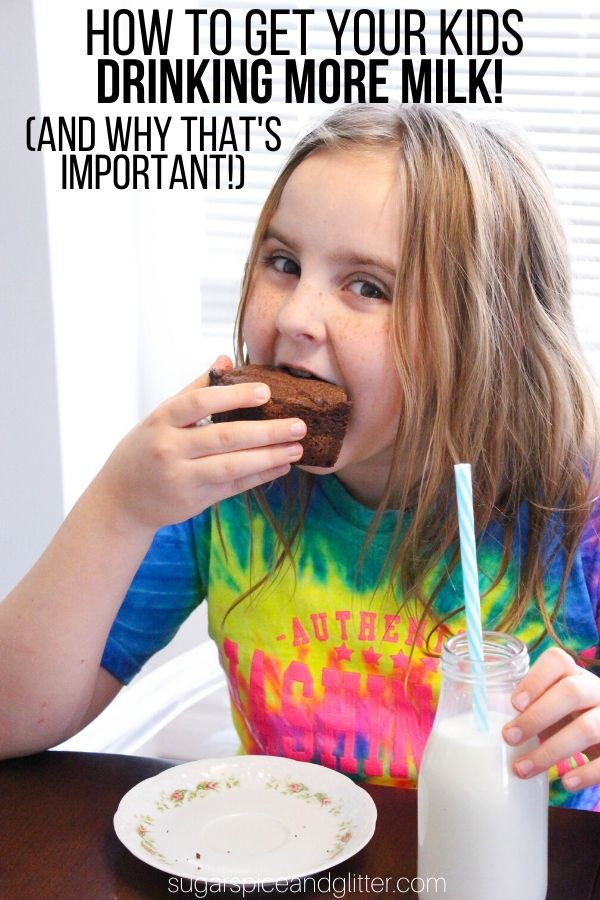 5 reasons to serve your children real milk (plus a delicious egg-free brownie recipe using a full cup of whole milk)