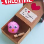 Valentine's Lovebird Craft (with Video)
