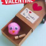 Valentine's Lovebird Craft