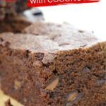 Egg-free Brownies with Coconut Oil