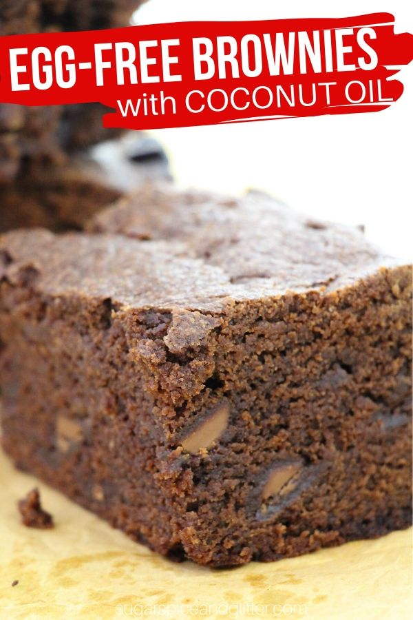 Let the kids lick the beaters with this egg-free brownie recipe made with coconut oil and whole milk.