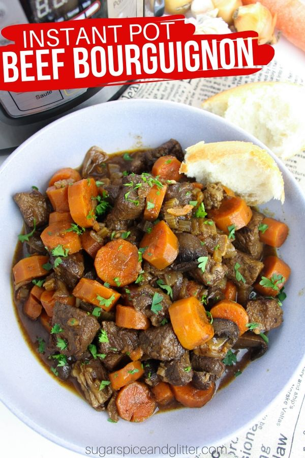 Succulent beef, rich gravy and perfectly cooked vegetables - simple the BEST Instant Pot Beef Stew you will ever make!