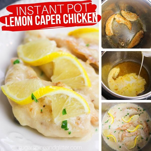 How to make Chicken Piccata in the Instant Pot