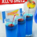 JELL-O Shots with Coconut Rum