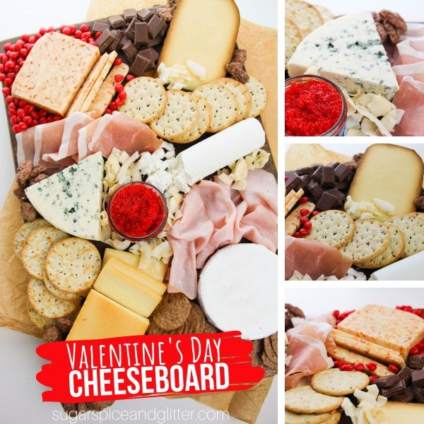 How to make a cheeseboard for Valentine's Day