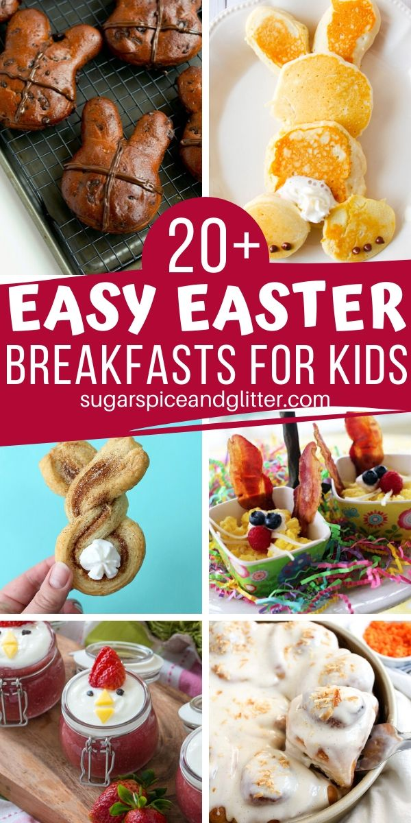 An easy way to add more magic to your Easter weekend, these Easy Easter Breakfast Ideas for Kids are delicious, simple and cute to boot!