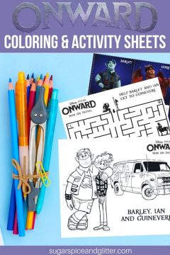 Onward Coloring Pages & Activity Sheets
