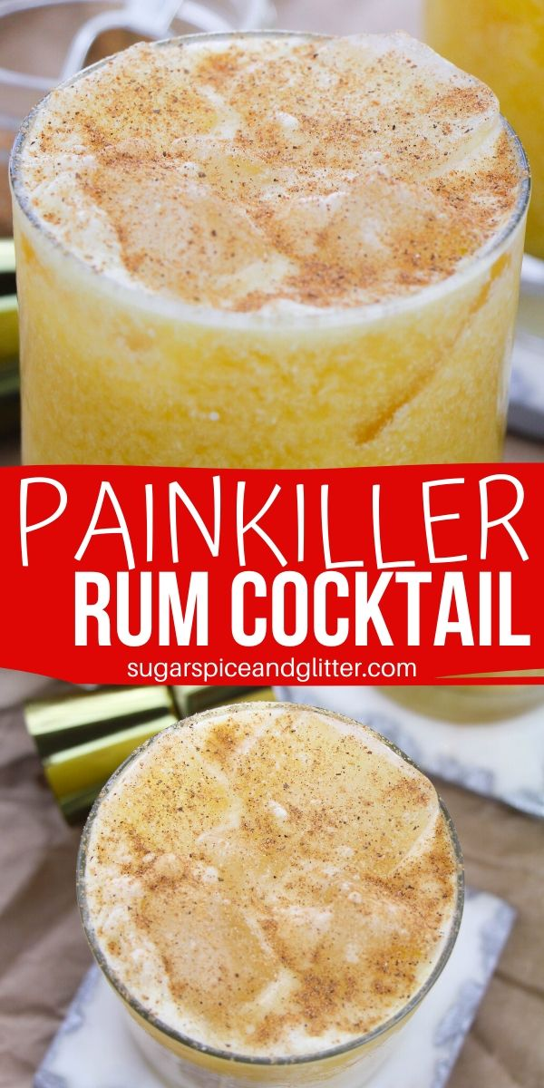 Everything you would expect from a cocktail named the Painkiller, these smooth-drinking, citrusy cocktails have a creamy finish and a hint of heat. Add a splash of sunshine to your day with this rum cocktial