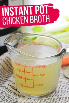 Instant Pot Chicken Broth