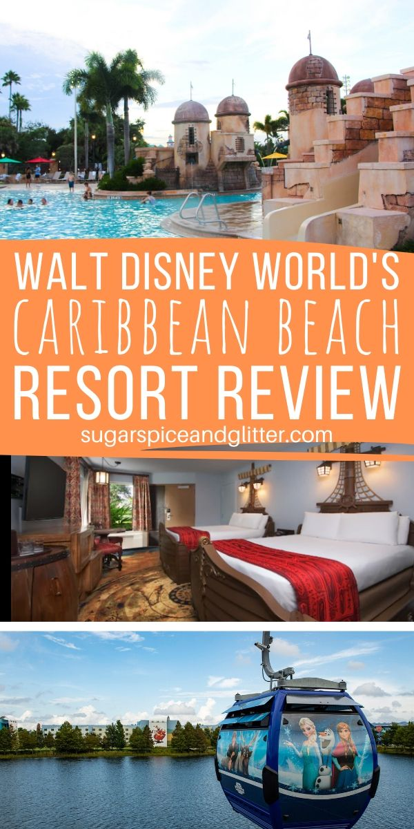 Everything you want to know about Disney's Caribbean Beach Resort, from the food, to the entertainment, the infamous transportation issues and of course - the Pirate Rooms!