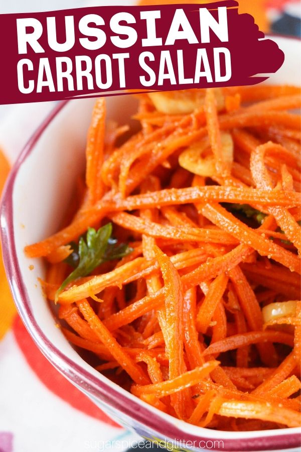 An easy 6-ingredient carrot salad recipe perfect for topping burgers, adding to stir fries or just enjoying as an easy side salad. This carrot salad is zesty with just a light natural sweetness from the carrots