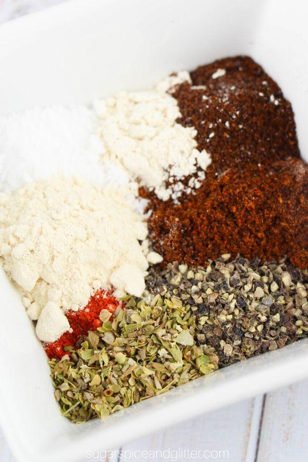 Homemade Adobo Seasoning Sugar Spice And Glitter