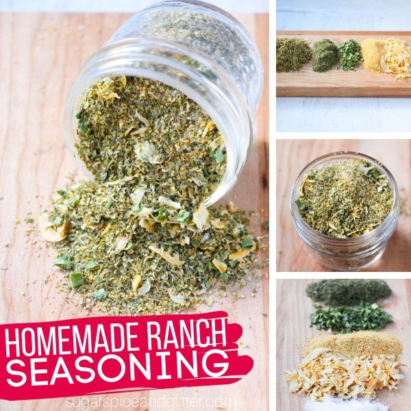How to make a homemade ranch seasoning mix to save money and skip the unhealthy additives found in the store-bought packets