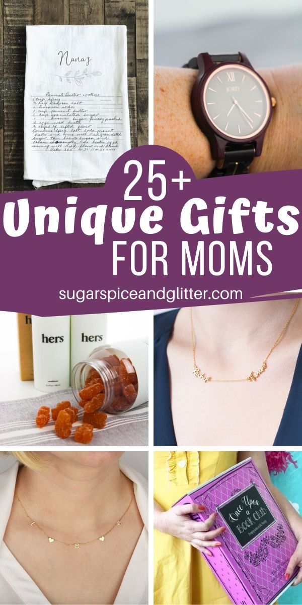 So many gorgeous and unique gift ideas for Mom - you will definitely find the perfect gift in this curated list of the best Mother's Day presents