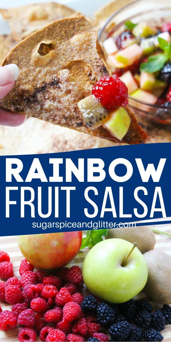 This easy fruit dessert is an incredibly delicious option for a healthy party dip, with only 128cal and 9g of sugar per serving. Serve with homemade cinnamon chips for an ultra-indulgent tasting treat