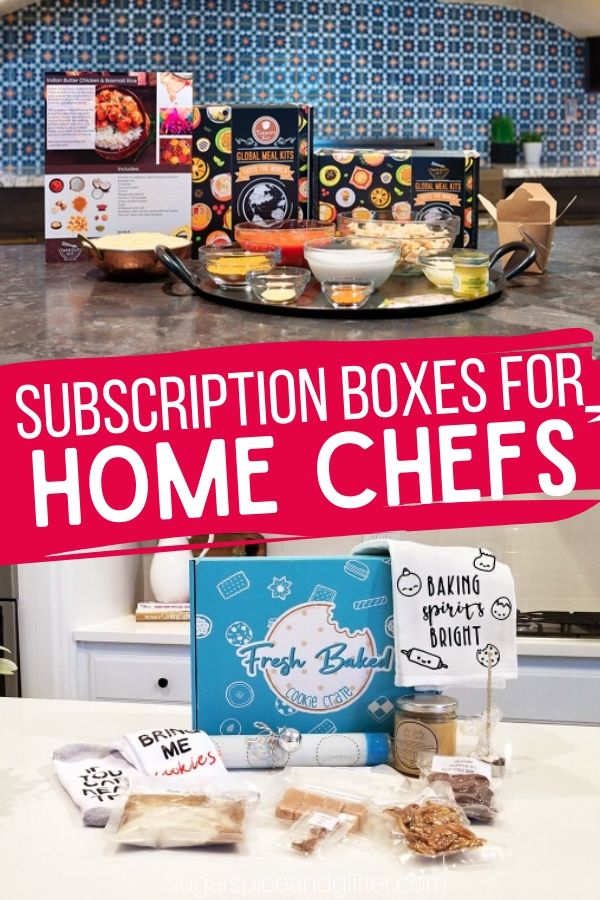 A fun way to treat the chef in your life, there are so many fun subscription boxes to satisfy their culinary prowess - and if you're lucky, you'll get to eat the finished products!