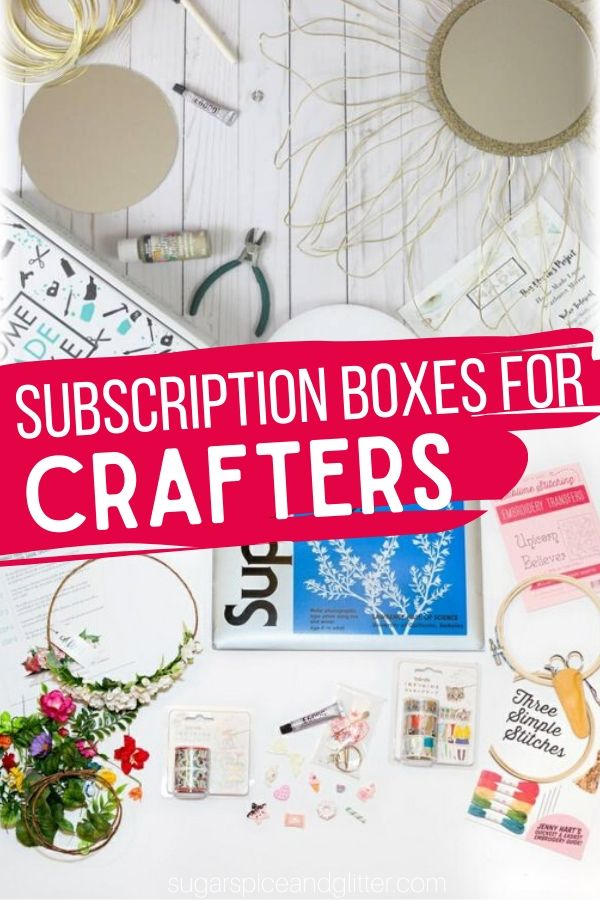 For the crafty pinner, these Subscription Boxes deliver everything you need to make Pinterest-worthy crafts, including the tools! Try a new craft or two every month.