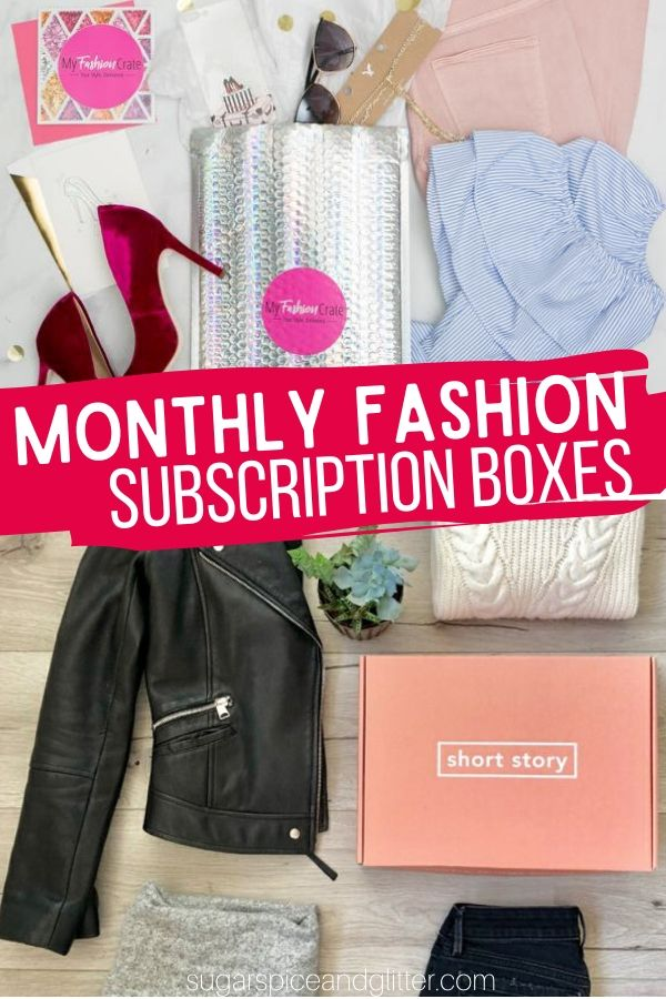 These Monthly Fashion Subscription Boxes are like having a personal shopper who knows exactly what you like and will look great in! Such a fun way to update or build your wardrobe