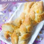 Rapunzel Garlic Bread Braids