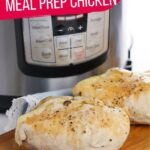 Instant Pot Poached Chicken