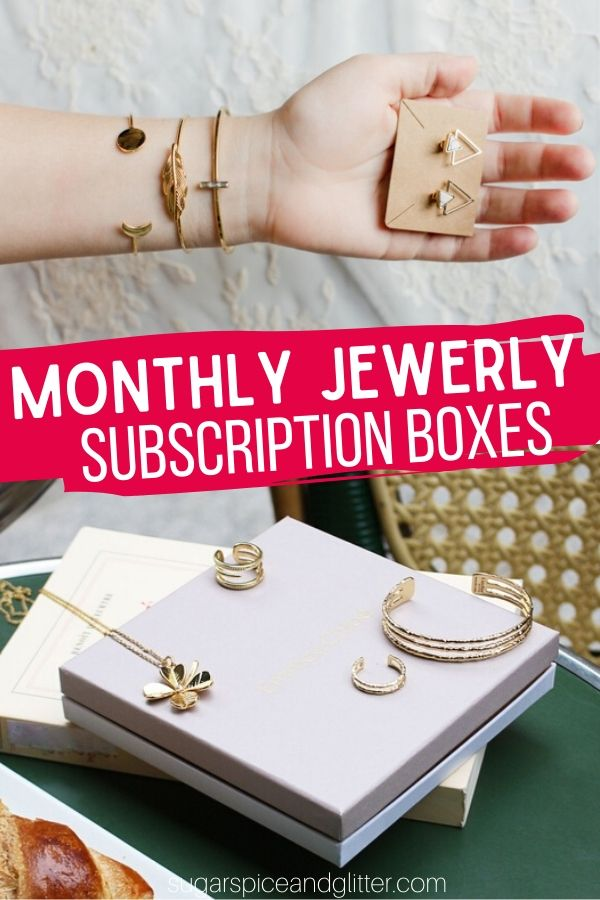 Gorgeous jewelry delivered every month - the perfect way to stay on trend and feel treated! These Jewelry Subscription Boxes are perfect for gifts or for treating yourself