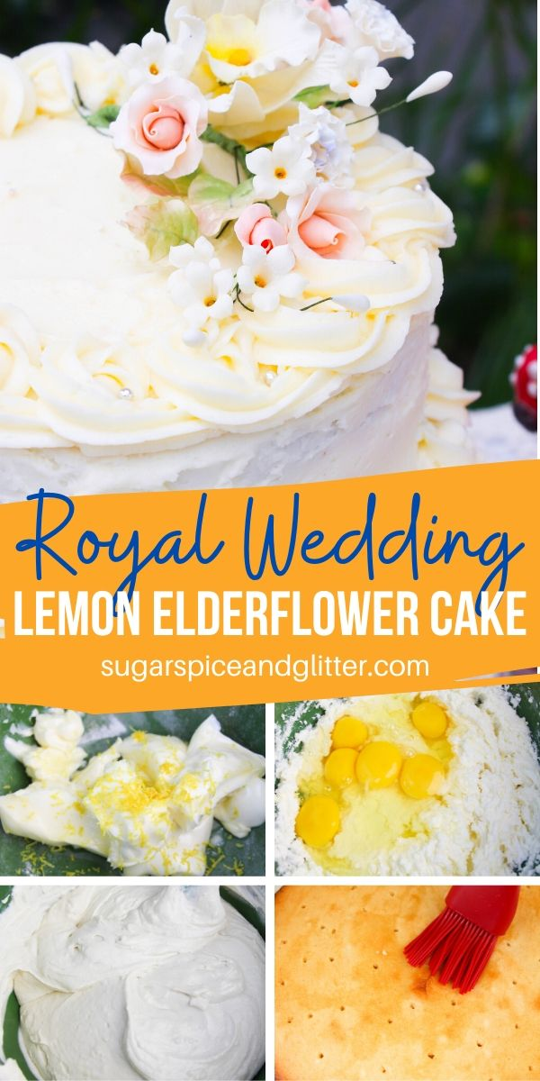 If you love lemon desserts, you are going to love this Lemon Elderflower Cake inspired by the Royal Wedding Cake. Tart, sweet and perfectly balanced, it's perfect for any special occasion
