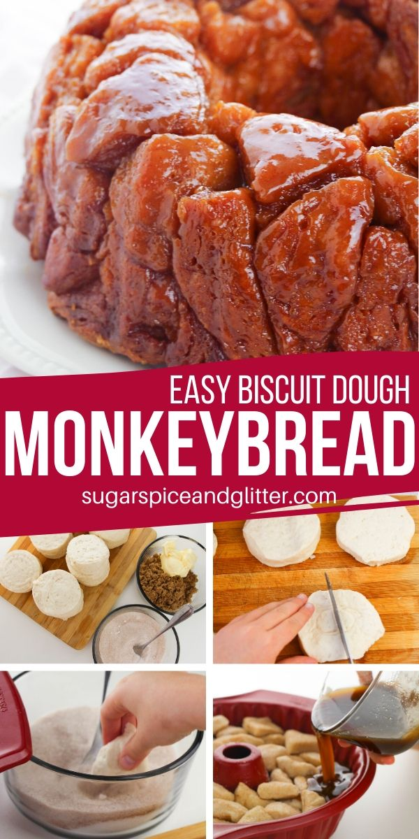 If you love that ooey, gooey, sugary center of a cinnamon roll, you are going to LOVE this easy Cinnamon Brown Sugar Monkey Bread recipe. Decadent and easy!