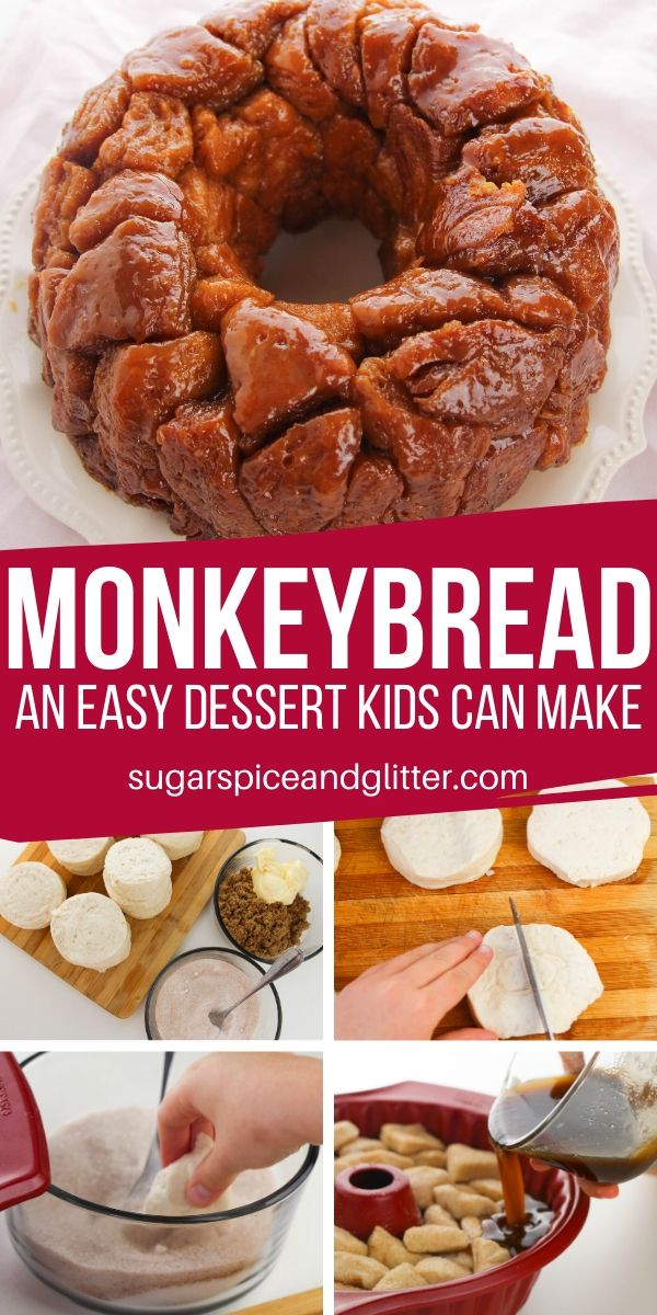 Monkey Bread With Video Sugar Spice And Glitter