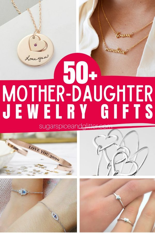 Over 50 Gorgeous and Thoughtful Mother-Daughter Jewelry Gifts, perfect for Mother's Day, a birthday or graduation.