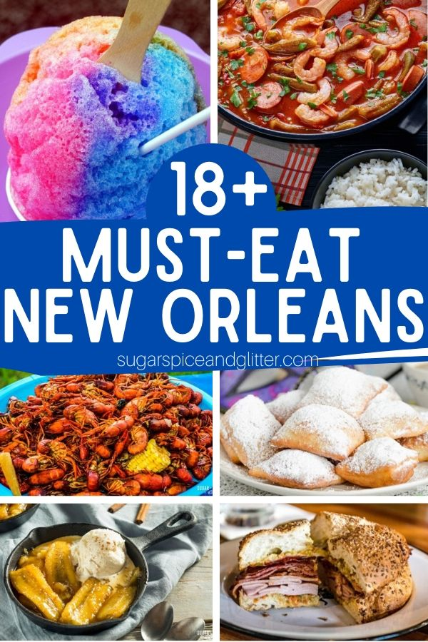 If you're planning a New Orleans vacation, we've got the food planning covered! Here is everything you MUST eat while in New Orleans - definitely a couple dishes you've never heard of