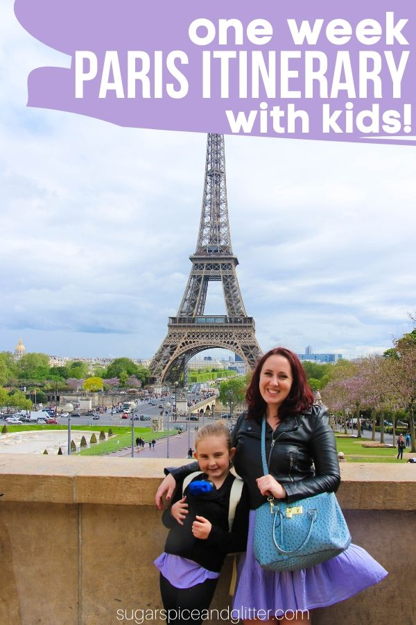 Everything you need to know to plan an amazing week in Paris with kids! The best Paris attractions kids will actually like - and which ones to skip!