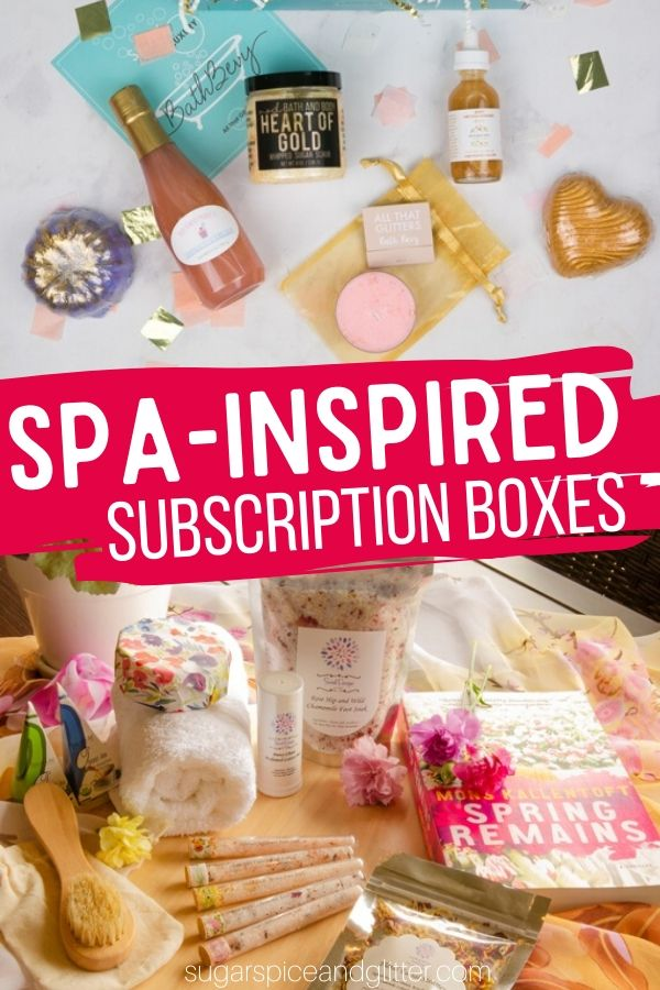 So many wonderful pampering gift ideas for at-home spa experience - from monthly subscription boxes, luxury beauty products and more!