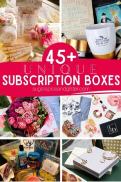 45+ Unique Subscription Boxes for Her