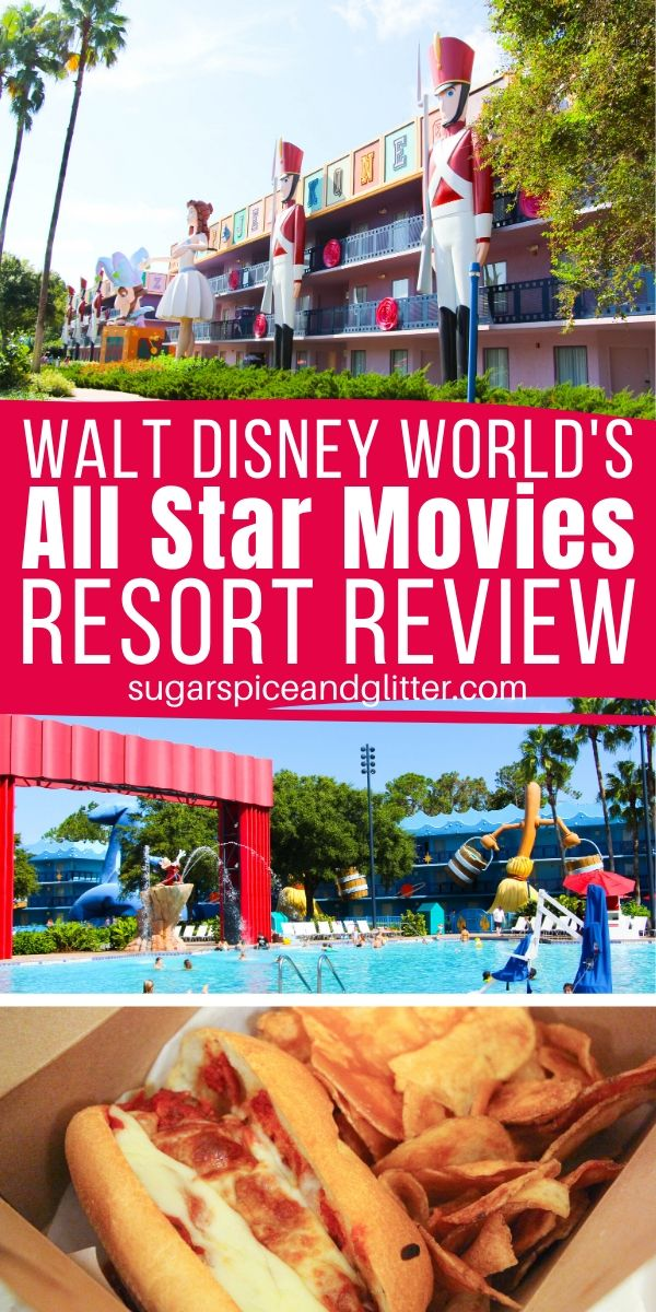 Is staying at Walt Disney World's All Star Movies resort the right choice for your family? It might not - read our full review of all of the fun things for kids, amenities - and where this resort falls short before booking your Disney family vacation