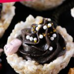 Gray Stuff Rice Krispie Cups