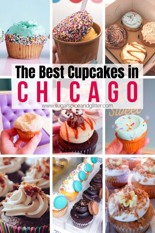 Planning a Chicago vacation? If you have a sweet tooth, here are the BEST cupcakes in Chicago that you need to try! Part of our series on Must-Eat Chicago Foods