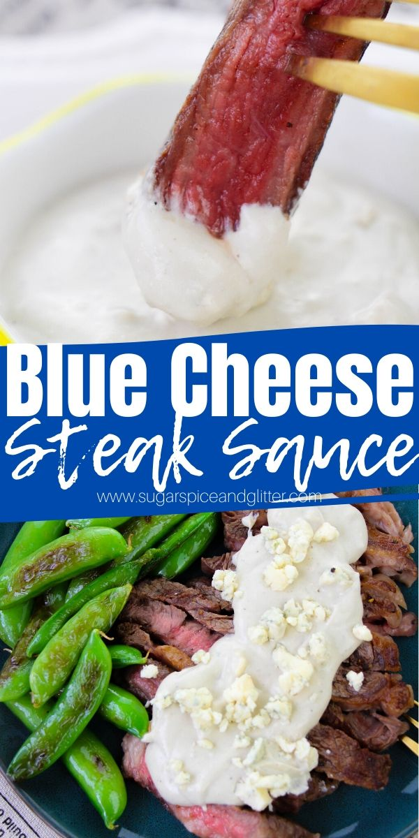 Transform your homemade steak dinner into something truly special with this homemade blue cheese steak sauce. No fancy culinary skills required - ready in 5 minutes