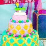 Princess Jasmine Birthday Cake