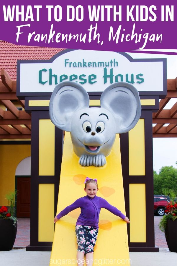 Plan a perfect family weekend in Little Bavaria, Frankenmuth, a charming Michigan town with great food and plenty of charm